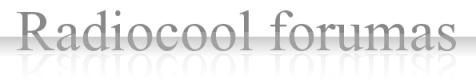 Radiocool forumas apie skaitmeninę antžeminę televiziją (DVB-T) ir ne tik